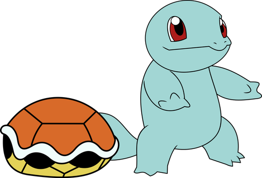 Squirtle au naturel by Porygon2z