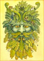 The Green Man by Jacob-Evans