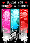 Would YOU smooch a ghost? by FrostPuppy96