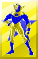 Booster Gold Prestige Series by Thuddleston