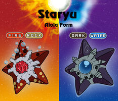 Staryu - Alola Form by AmbrosiaDelish