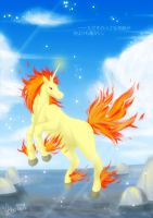 Flaming Rapidash by Al-Shira-Aohoshi
