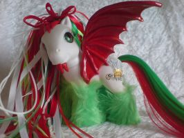 Cyber Welsh Dragon by assassin-kitty