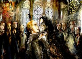 Draco and Snape: Class by ElenaTria