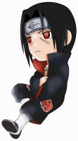 Chibiitachi by Riafairyface