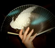 Fan in Hand Stock 3 by Forbidden-Stock