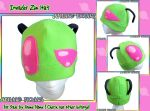 Invader Zim Hat by AnimeNomNoms