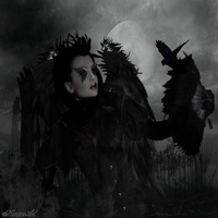 Queen of ravens by magicsart
