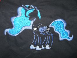Embroidered Luna by nizati