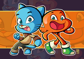 Fanart - The Amazing World of Gumball! by FelipeJRosa