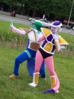 Freeza and Zarbon by Glay