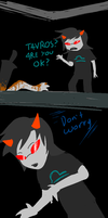 SPOILERS Vriska being Vriska by Koma404