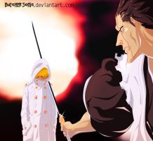Bleach 573 p13 Zaraki by ButcherSonic