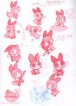 Blossom Sketches by Porcubird