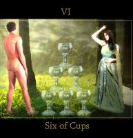 Six of Cups by Vinyariel