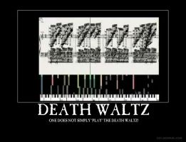 Death Waltz Demotivator by Feraligono