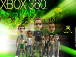 xbox avatar collection by Faisalharoon