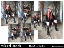 High Seas Pack 7 by mizzd-stock