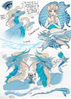 Aaaaand...Elsa is now Smaug's third cousin by DragonaDeAcero