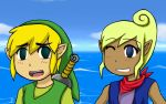 Link x Tetra by Wolf-Kid1000