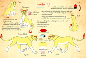 Jennifer -- ref sheet by Shiloh-Tovah