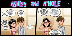 Ashley and A*Hole #71 by Ashleykat