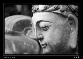 buddhism in stone by davidmcb