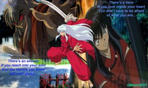 InuYasha: Hero by Leena-A