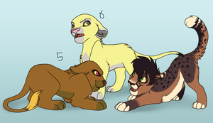 Cub adoptables 2 by Jackamoco