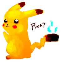 Pika by chiipi