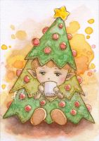 Little Christmas Tree by aruarian-dancer
