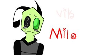 New oc - Milo by Vikkerz