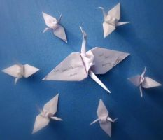 The Dance of the Cranes by GirlWithAHat