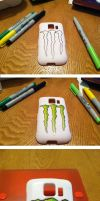 Monster phone case by yummehMOO