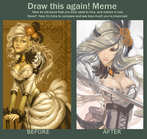 Before and After Meme by Fieryght