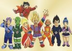 TTC - Rainbow Brite- DBZ Style by dragonballdeviants