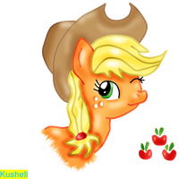 Applejack - Special Color - by Kushell