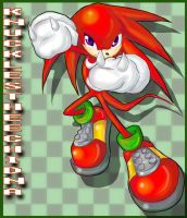 .:GreenHill-Knuckles:. by HavocTheCat