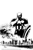 Captain America - Deodato by glasshousegraphics