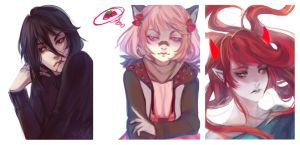 [Chocolate] [Pink] [Red] by m0queur