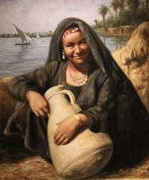 Egyptian peasant by wolfreen