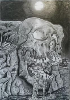 Competition - Skull by anne-summer