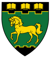 A Bridled Horse Passant, Shield Design by Icaron
