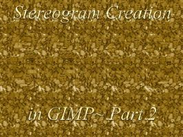 GIMP Stereogram Creation Pt 2 by fence-post