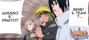 The Team 7 reunited!!! 631 - Lineart colored by DennisStelly