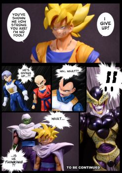 Cell vs Goku Part 5 - p12 by SUnicron