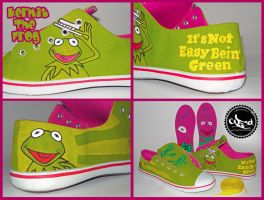 KERMIT THE FROG by CODE-1