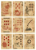 Alice in Wonderland Card Deck - Part 3 by Karla-Chan