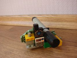 Gauss turret detached - back by Mate397