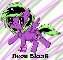 Neon Blast - Adoptable by Minessa